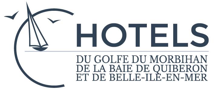 Logo Hôtels du Golfe du Morbihan de la Baie de Quiberon et de Belle-ile-en-mer